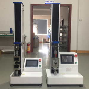 5KN伸长率计触摸屏橡胶拉力试验机
